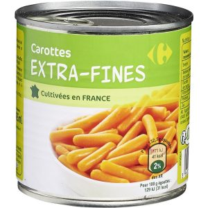Carottes extra-fines CARREFOUR