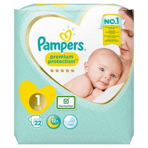 Couches taille 1 : 2-5 kg PAMPERS