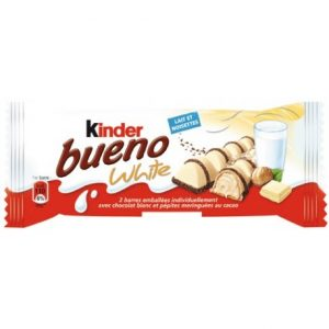 Barres chocolatées White KINDER BUENO