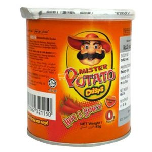mister potato hot and spicy 45g