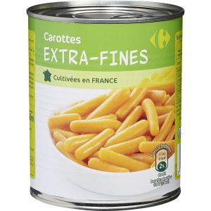 Carottes extra-fines CARREFOUR 4/4