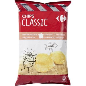 Chips Classic CARREFOUR 200g