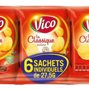 Chips nature VICO x6