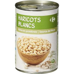 Haricots blancs CARREFOUR 1/2