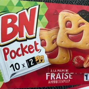 Biscuit BN Pocket fraise 150g